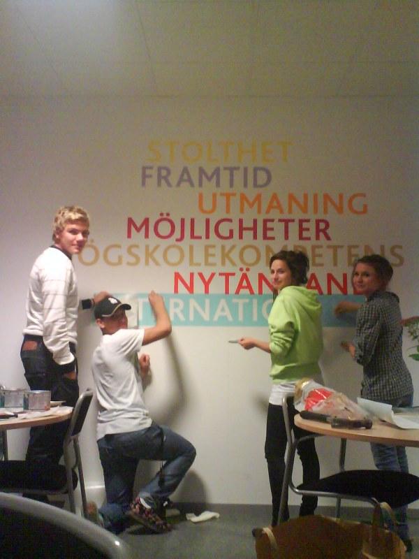 DCC kreativa elever