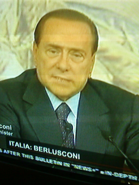 Berlusconi jag orkade bara ligga med atta