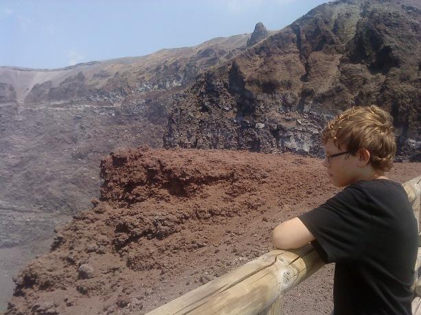 Carl ludvig vid Vesuvius