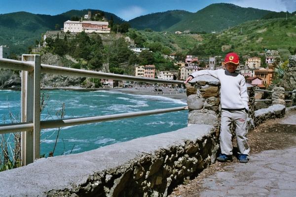 CL o jag i Monterosso maj 2004