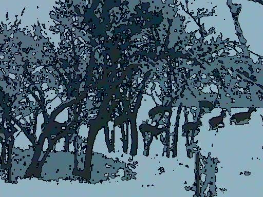 Hjoratr i snö 1