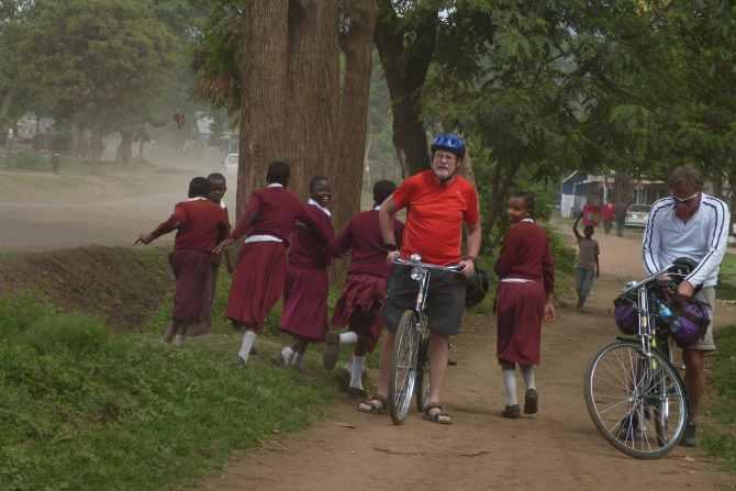 Björn Lundén i Afrika