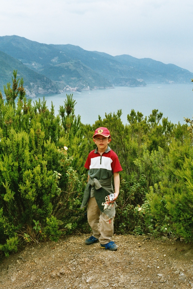 Carl Ludvig in Liguria HCG2004