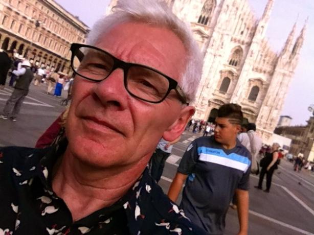 Håkan Carlberg in Milano HCG2013