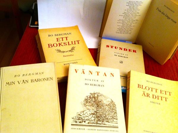 Bo Bergman, böcker av HCG2014