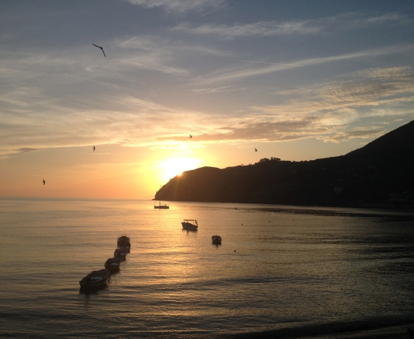 Sunset in Liguria HCG2014