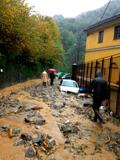 Maltempo Liguria 2014
