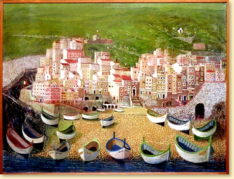 Riomaggiore - Cinque Terre - Bengt W Källman