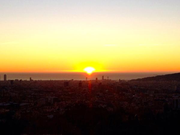 Sunrise Barcelona Giulio Rossi