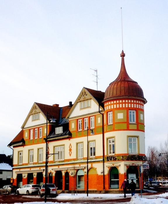 Orsa in Sweden