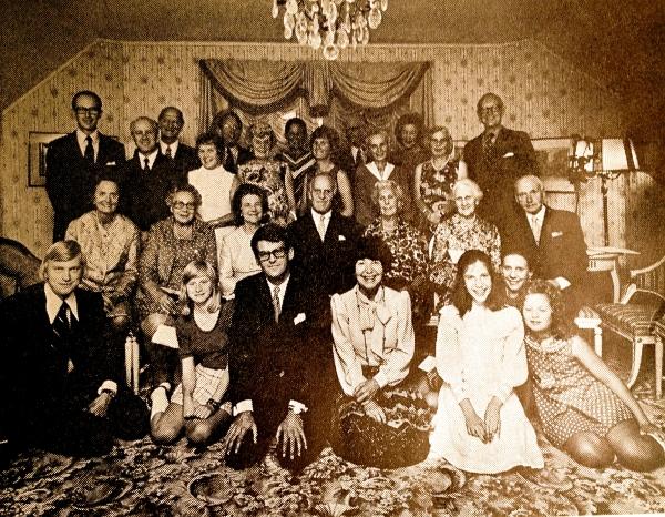 Carlbergska släktföreningen - träff i Stockholm i slutet av 60-talet
