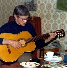 Bengt W Källman sjunger Taube