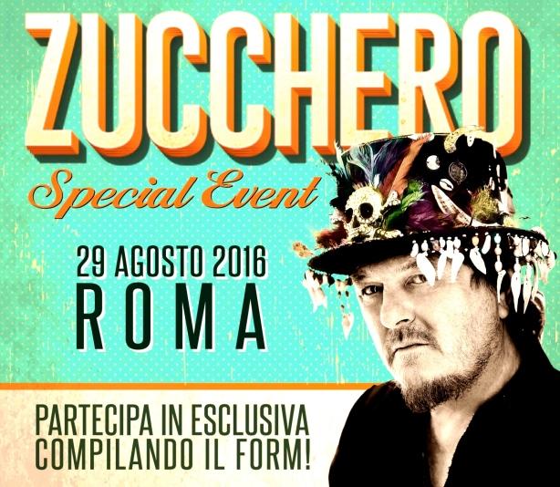 ZUCCHERO in Rome 2016