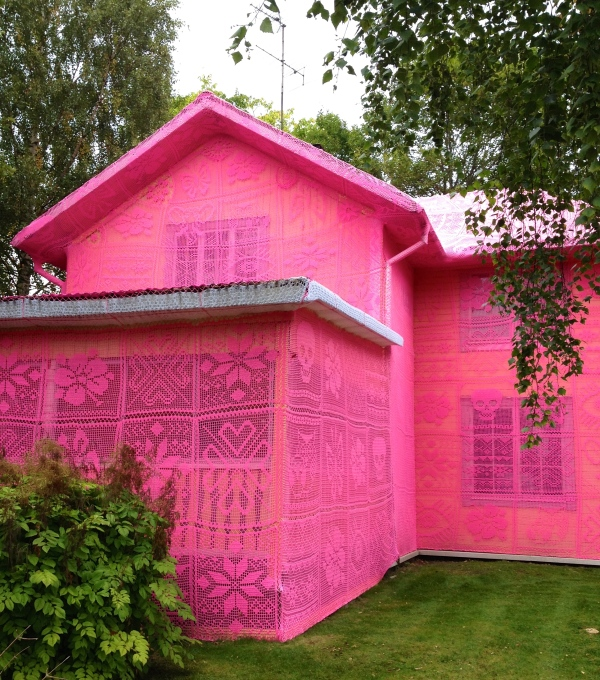 The pink house Avesta H Carlberg