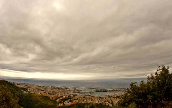 Rain in Liguria
